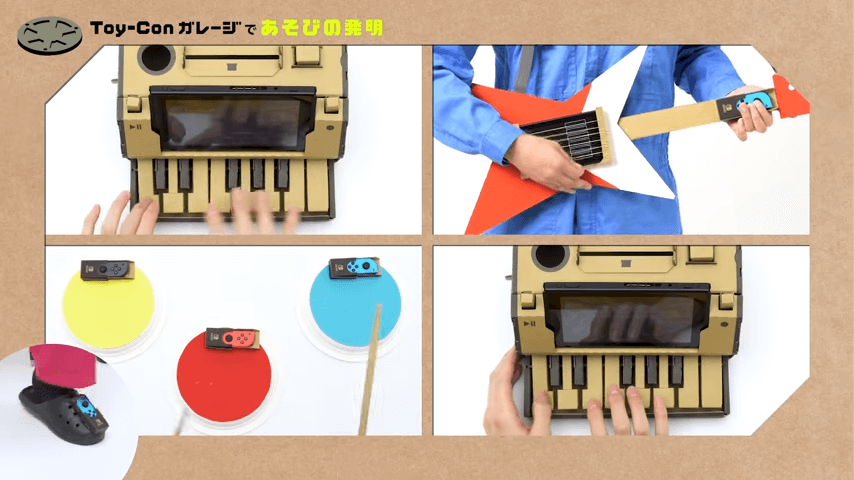 自分で作った楽器でセッション