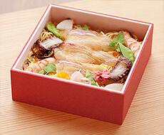 活魚料理いなさ 天然真鯛ちらし寿司
