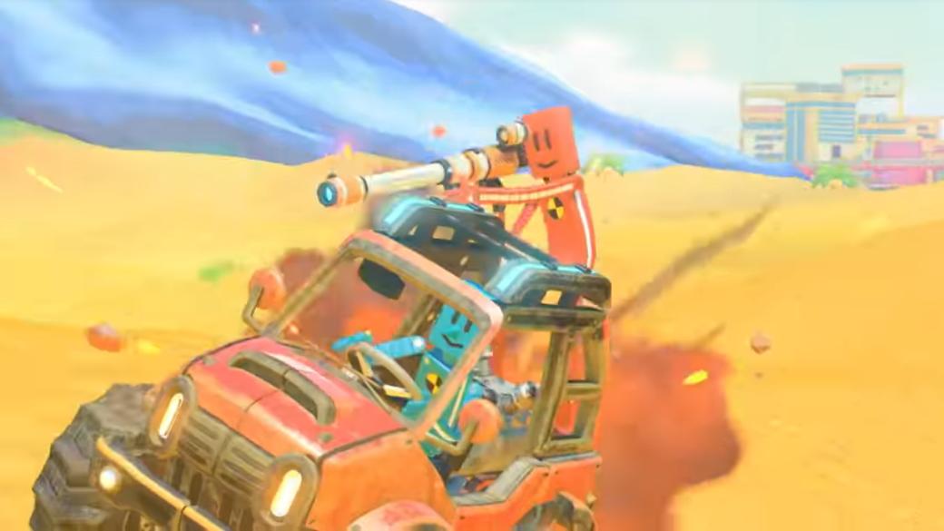 ドライブキットは色々なモードで遊べる