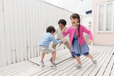 子供と家遊び