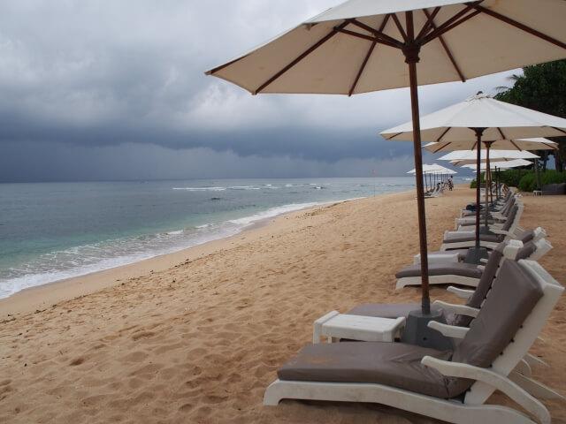 雨の日の沖縄