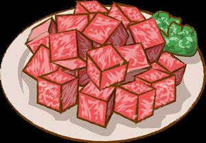 サイコロステーキの通販
