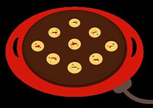 たこ焼き器ピザ