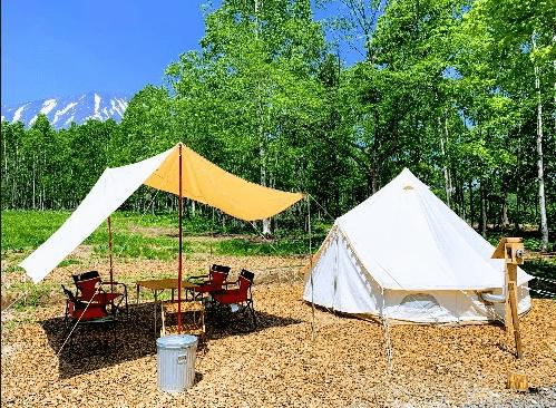 焚き火 場 真狩 キャンプ