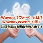 仮想通貨Wowoo(ワォー)/WowBit(ワォビット)/WWBは将来性があるの?注目を集める理由を教えます!