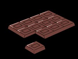 チョコ 何 板 1 グラム 枚