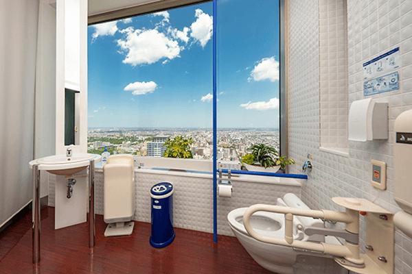 札幌JRタワー眺望トイレ