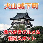 犬山城下町は食べ歩きが楽しい!写真映えの観光スポットもあるよ!