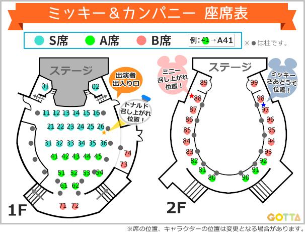 席番号付きミキカン座席表