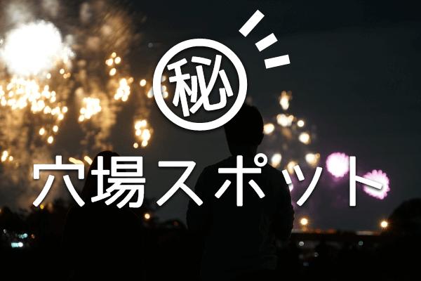 長良川中日花火大会の穴場スポット