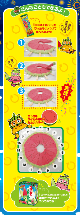 スイカバー 円
